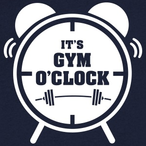 It's Gym O'Clock T-Shirts - Men's V-Neck T-Shirt