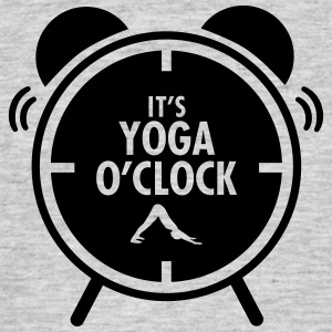 It's Yoga O'Clock T-skjorter - T-skjorte for menn