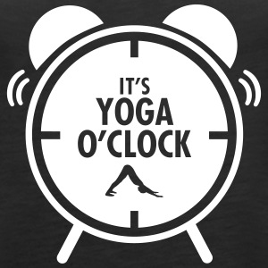It's Yoga O'Clock Toppar - Premiumtanktopp dam