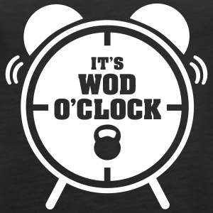 It's WOD O'Clock Tops - Vrouwen Premium tank top