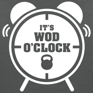 It's WOD O'Clock T-Shirts - Women's V-Neck T-Shirt