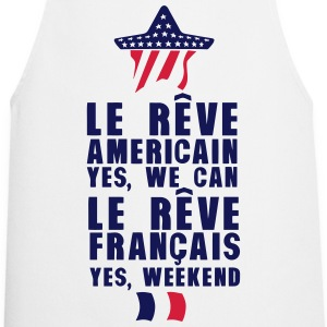 reve americain francais we can weekend Tabliers - Tablier de cuisine