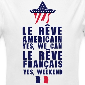 reve americain francais we can weekend Bodys Bébés - Body bébé bio manches longues