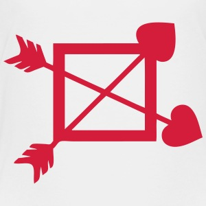 Arrow cupid cross heart 1 Shirts - Kids' Premium T-Shirt