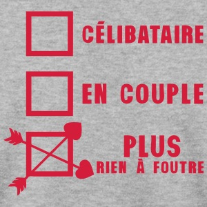 celibataire couple rien foutre citation Sweat-shirts - Sweat-shirt Homme