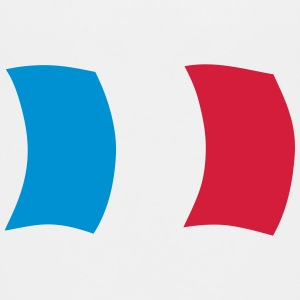 Flag France French blue white red Shirts - Teenage Premium T-Shirt