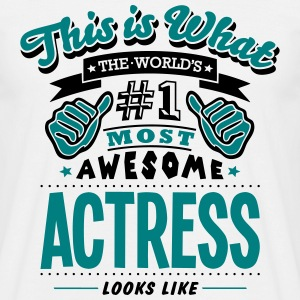 actress world no1 most awesome copy - Men's T-Shirt