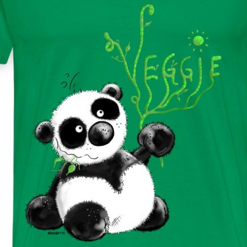 Veggie Panda- vegetarian - vegetable - Cartoon