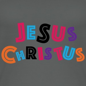 Jesus Christus - Bunt Tops - Frauen Bio Tank Top