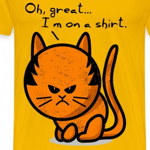 cat grumpy cat grunge on shirt