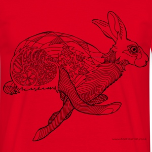 Running hare t-shirt - Men's T-Shirt