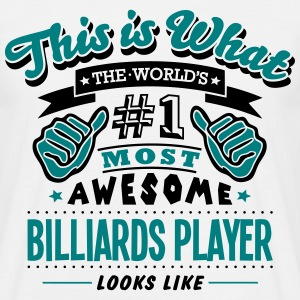 billiards player world no1 most awesome  - Men's T-Shirt