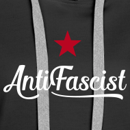 Motiv ~ AntiFascist Hoodie Frauen