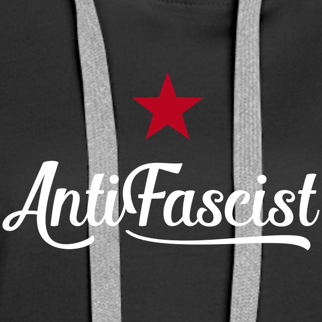 AntiFascist Hoodie Frauen