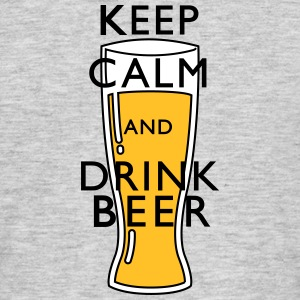keep calm Beer Tee shirts - T-shirt Homme