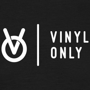 Vinyl Only Records Logo - Men's T-Shirt