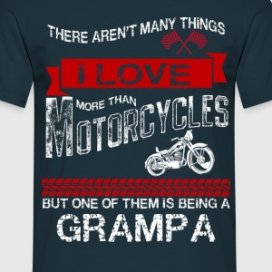 This Grampa Loves Motorcycles T-Shirts - Men's T-Shirt