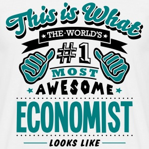 economist world no1 most awesome - Men's T-Shirt