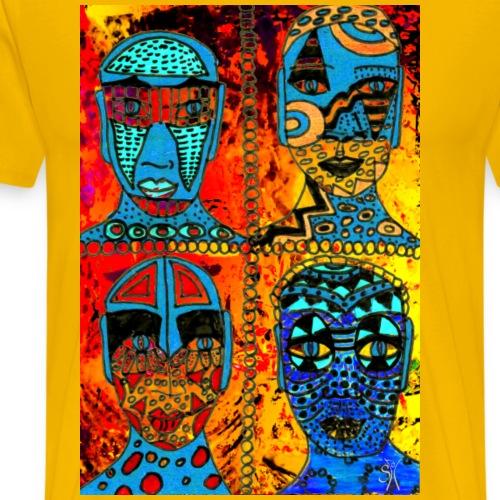SH African Faces Quartett 01