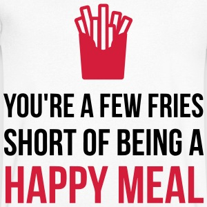 You re Almost Like A Happy Meal (2015) T-Shirts - Men's V-Neck T-Shirt