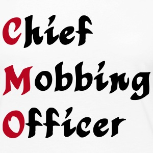 CMO - Chief Mobbing Officer Long Sleeve Shirts - Women's Premium Longsleeve Shirt