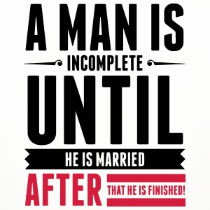 A Man is Incomplete until he is married (2015) Mugs & Drinkware - Coasters (set of 4)