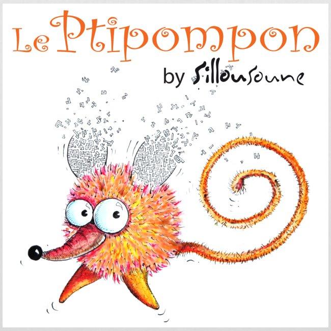 """Sac """"Tote bag"""" Ptipompon-Sillousoune"""