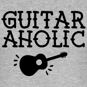 GuitarAholic T-skjorter - Slim Fit T-skjorte for menn