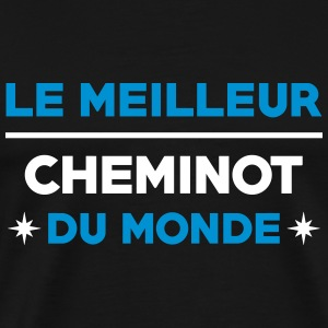 Cheminot / Train / Rail / Transport / SNCF / RATP Tee shirts - T-shirt Premium Homme
