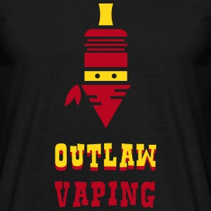 OUTLAW VAPING Tee shirts - T-shirt Homme