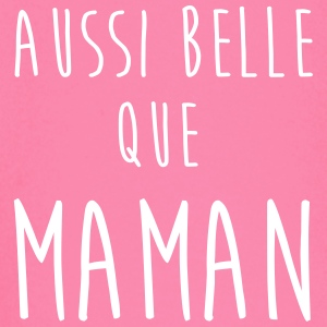 aussi belle que maman Tee shirts manches longues Bébés - T-shirt manches longues Bébé