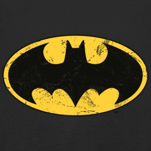 Batman Dark white Men T-Shirt - Långärmad premium-T-shirt barn
