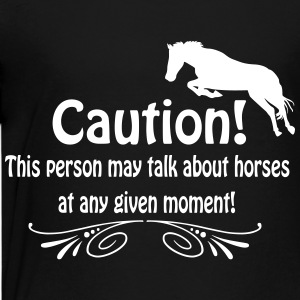 Funny horse quote Shirts - Teenage Premium T-Shirt