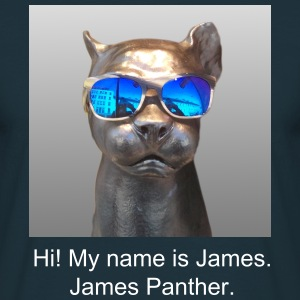 James Panther - Männer T-Shirt