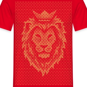 Lion Crown T-Shirts - Men's T-Shirt