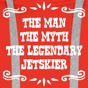 ski instructor the man myth legendary le premium h - Men's Premium Hoodie