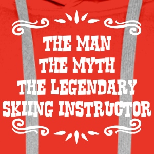 skimmer the man myth legendary legend premium hood - Men's Premium Hoodie
