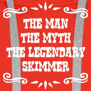 skittle player the man myth legendary le premium h - Men's Premium Hoodie