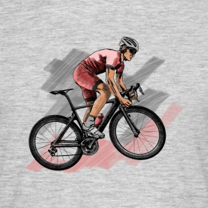 racing bicycle T-shirts - Herre-T-shirt