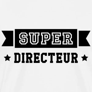 Chef / Directrice / Directeur / Manager / Patron Tee shirts - T-shirt Premium Homme