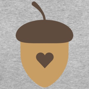 Acorn with heart T-Shirts - Women's Organic T-shirt