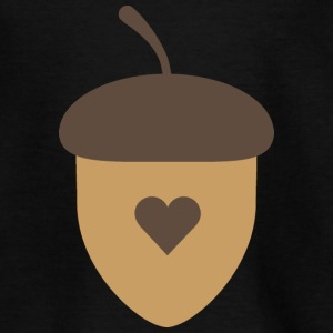 Acorn with heart Shirts - Teenage T-shirt