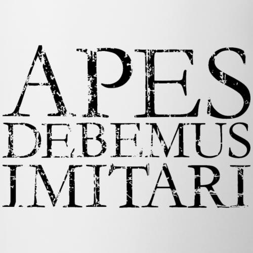 APES DEBEMUS IMITARI Vintage black