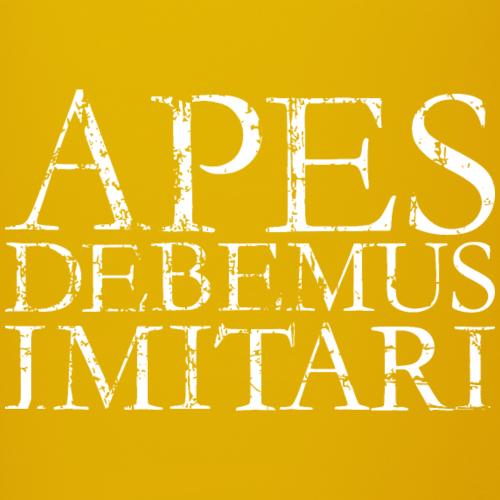 APES DEBEMUS IMITARI Vintage white