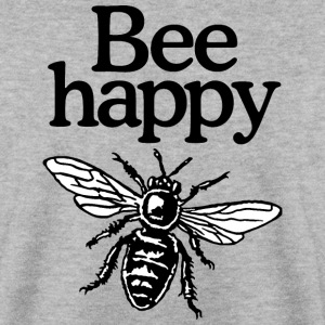 Bee Happy Pullover - Men's Sweatshirt
