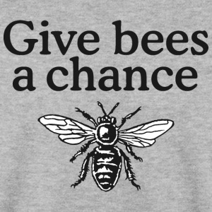 Give Bees a Chance Pullover - Men's Sweatshirt
