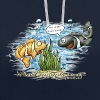 when clownfishes meet - Kontrast-Hoodie