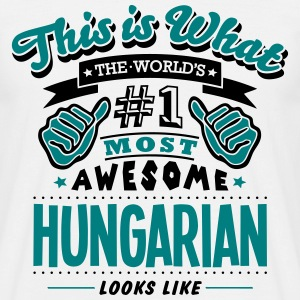 hungarian world no1 most awesome T-SHIRT - Men's T-Shirt