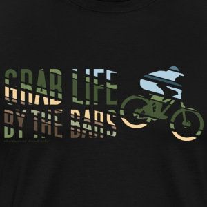 Enduro Mountain Bike T Shirt - Men's Premium T-Shirt