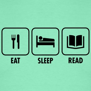 Eat - Sleep - Read T-shirts - Herre-T-shirt